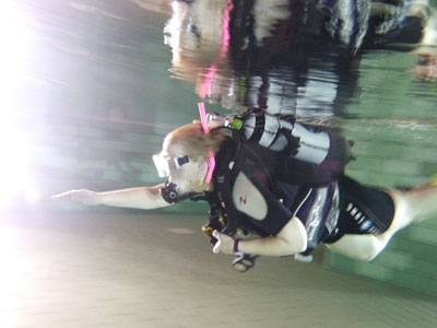Open Water Diver Pool